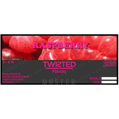 AROMA CONCENTRATO TWISTED - RASPBERRY - 10 ML