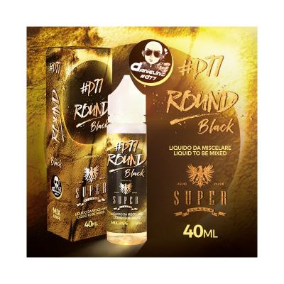 Super Flavor Round Black by D77 - AROMA A BASSA CONCENTRAZIONE - 40ml
